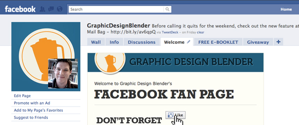 Elements of an awesome facebook page for your design business