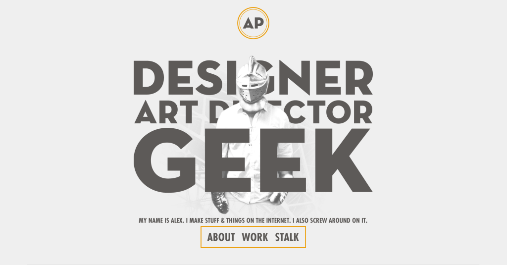 the geek design portfolio