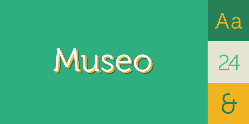 Museo Font.5 Fonts That Will Kill Your Design 5 Great Alternative Fonts