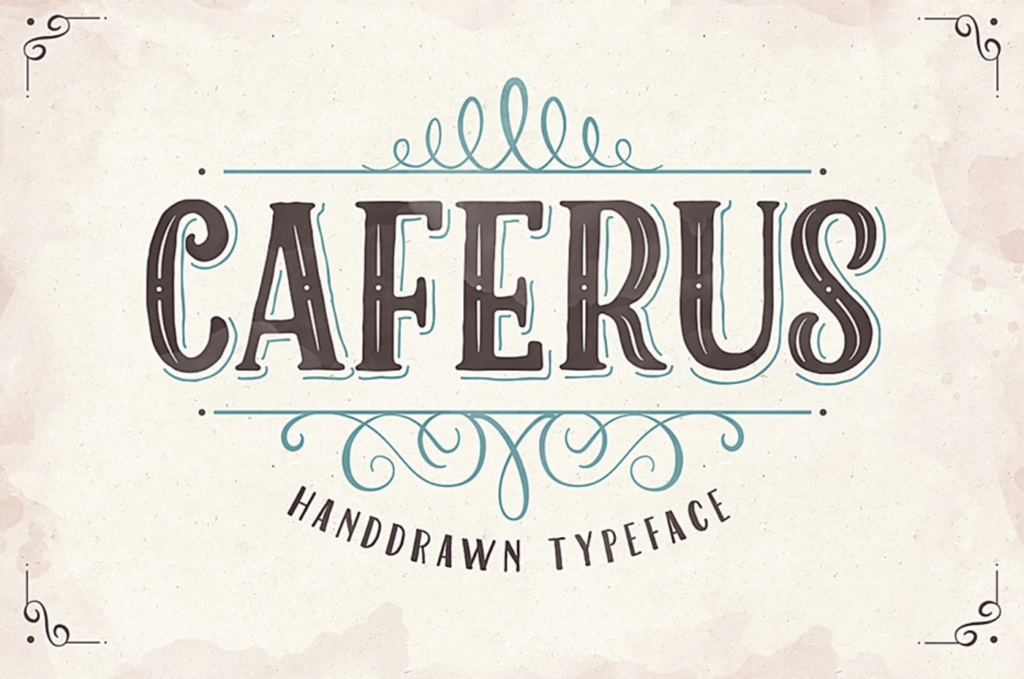 Best fonts for logos - Caferus