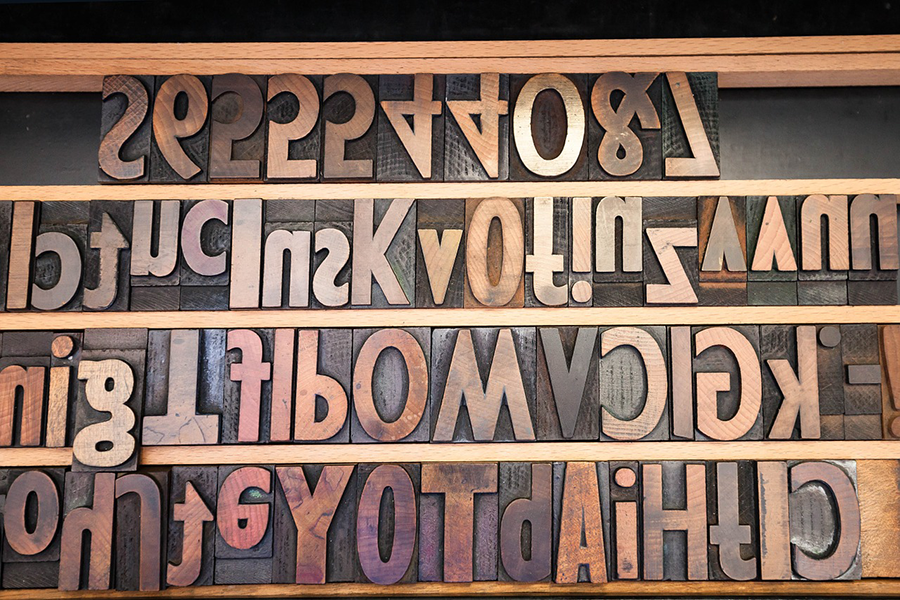 How to pick the perfect font for print projects