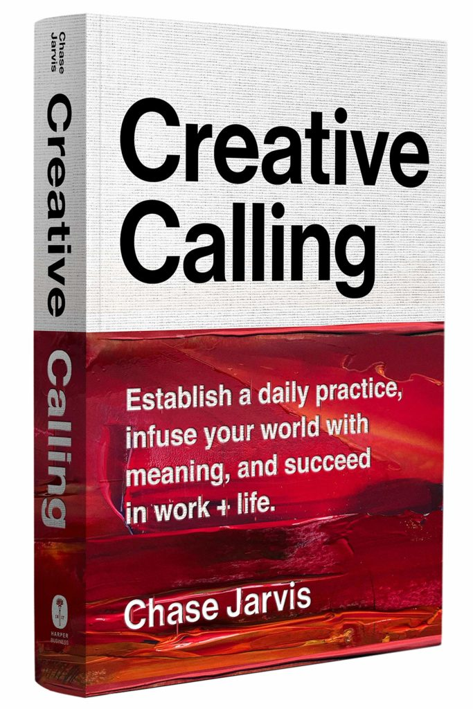creative calling book as gift