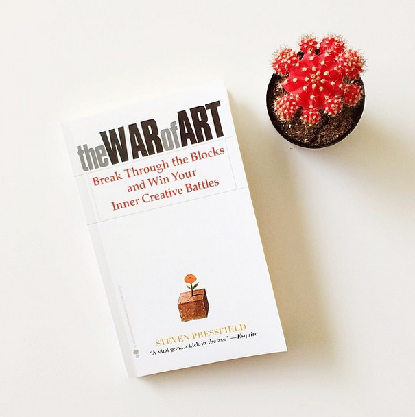 creative gift books war of art