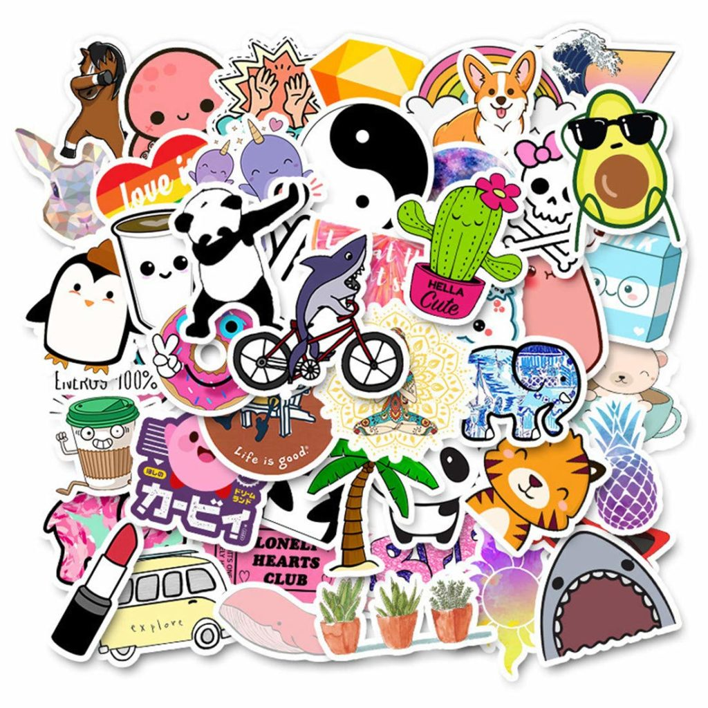 gifts for creative people - stickers