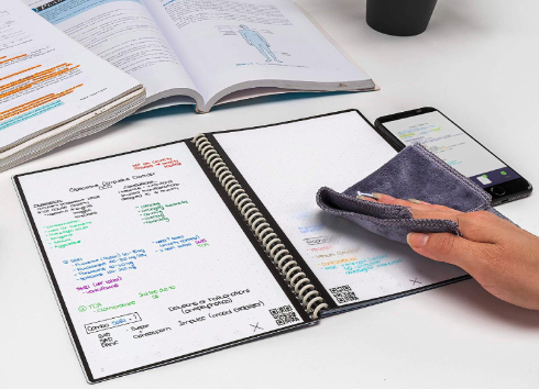 reusable dot grid notebook for creatives