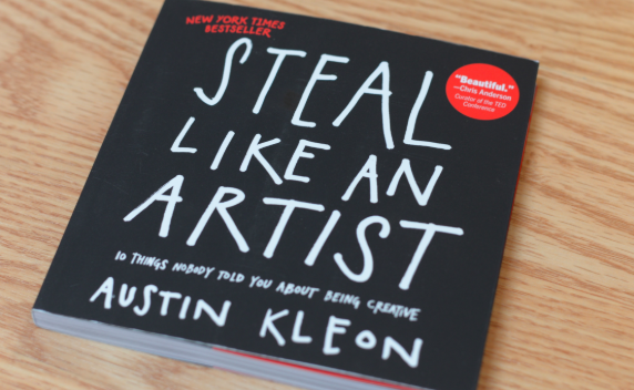 steal like an artists creative gifts idea books