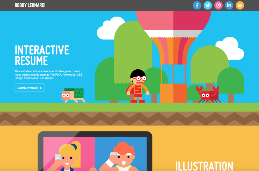 20+ Graphic design portfolios you\'ve gotta see before ...