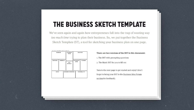 How to write a one page business plan templates ideas and a step one page business plan template fizzle accmission