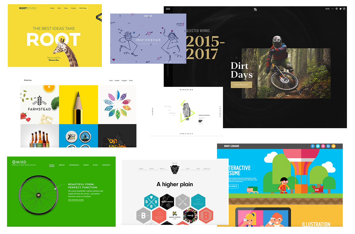 20 graphic design portfolio sites to inspire your own work