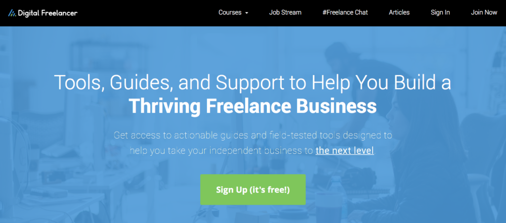 Freelance Job Sites - Digital Freelancer
