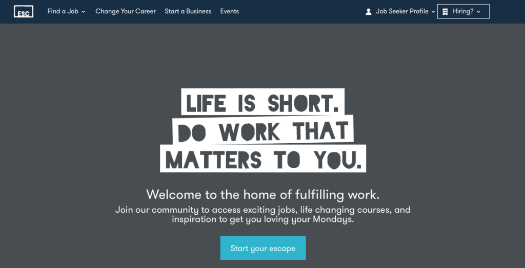 Freelance Job Sites - Escape the City