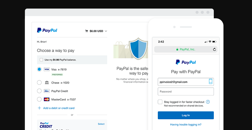 Freelance Invoice Templates in PayPal