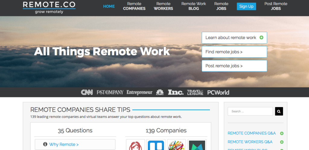 Freelance Job Sites - Remote