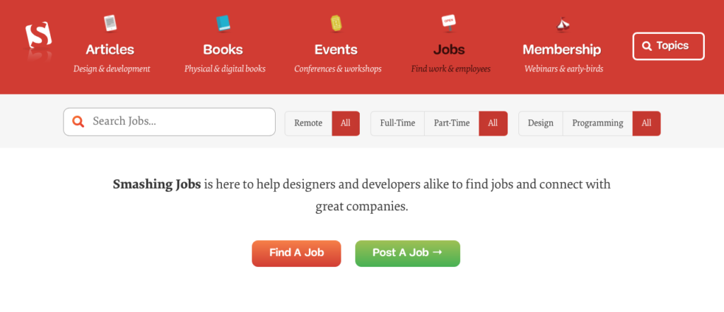 Freelance Job Sites - Smashing