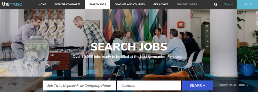 Freelance Job Sites - The Muse Jobs