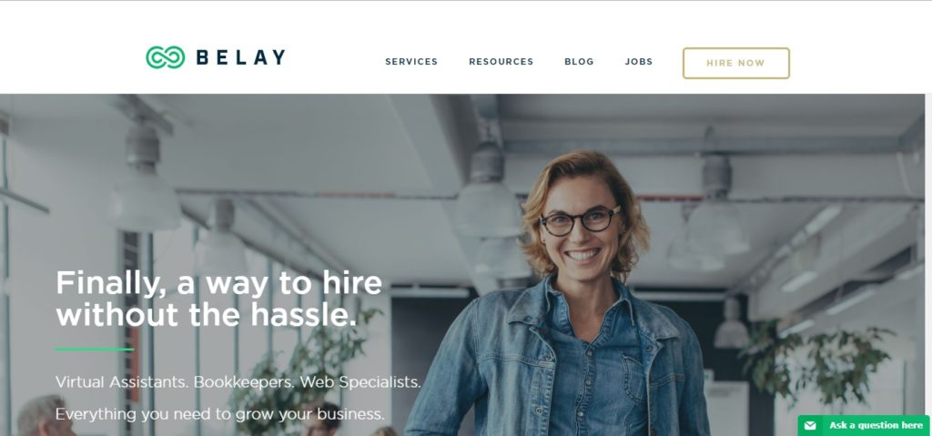 Freelance Job Sites - Belay