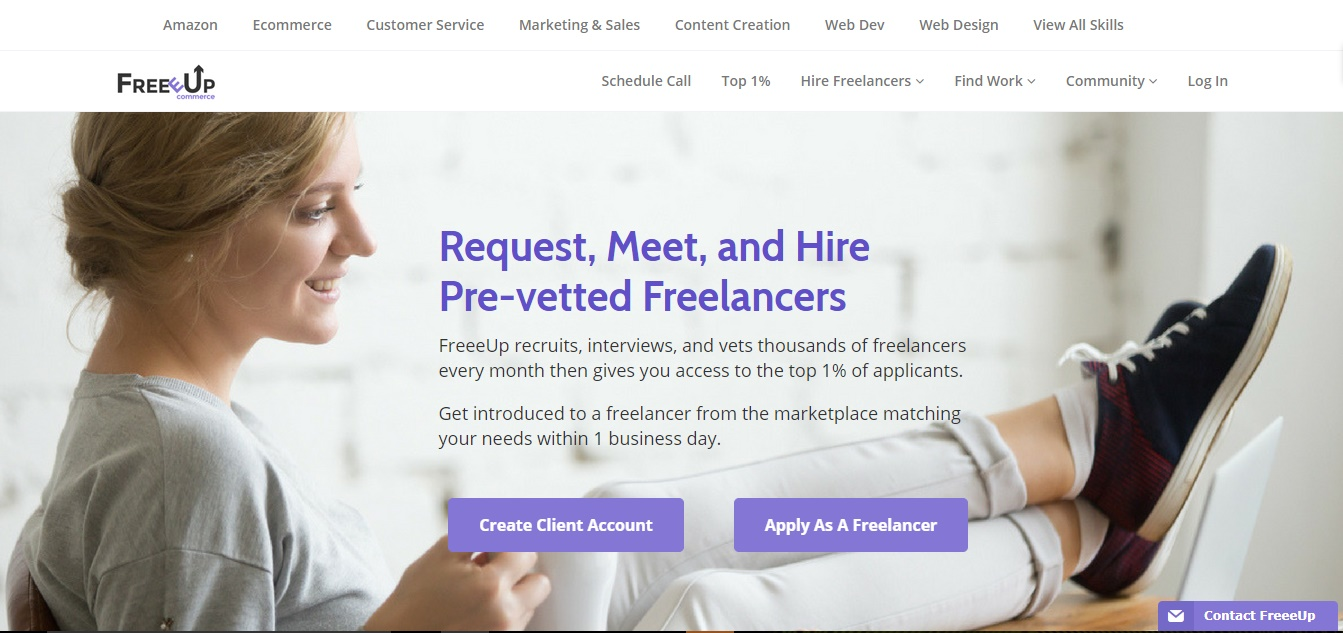 Freelance Job Sites - FreeeUp