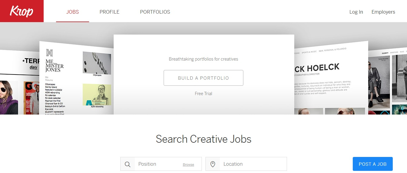 Freelance Job Sites - Krop