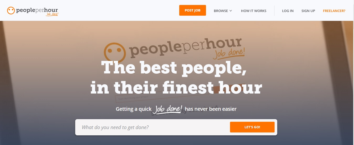 Freelance Job Sites - People Per Hour