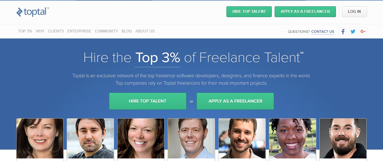 Freelance Job Sites - Toptal