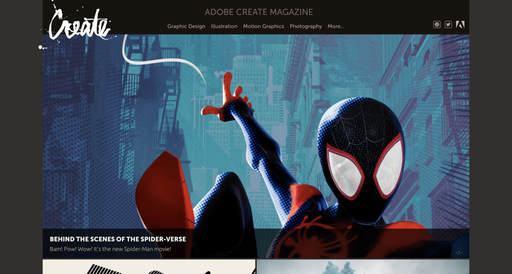 Graphic design blogs - adobe creative magazine