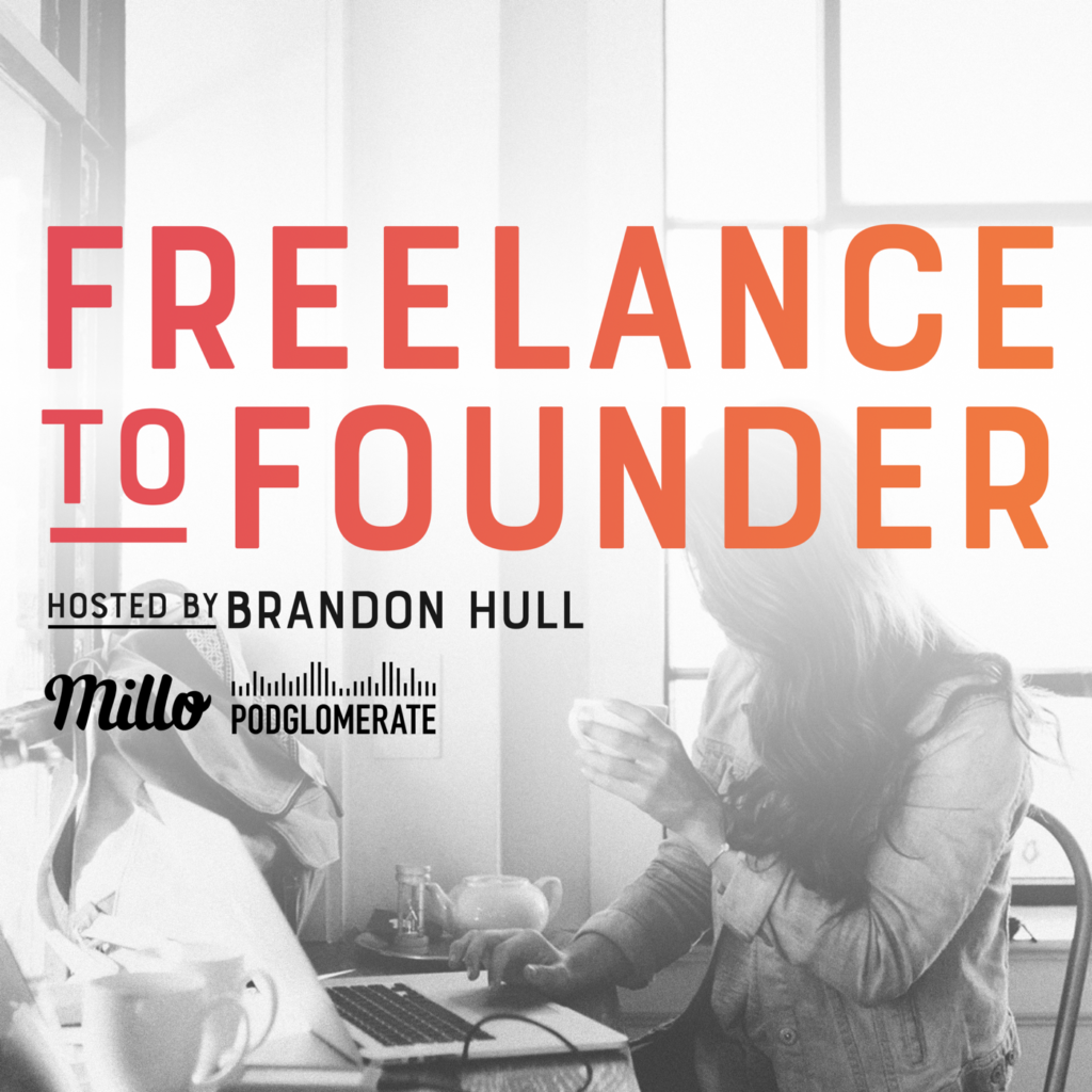 Freelance to Founder Podcast Art