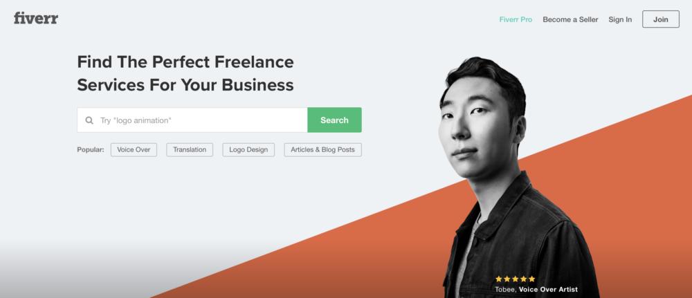 Sites like Upwork - Fiverr