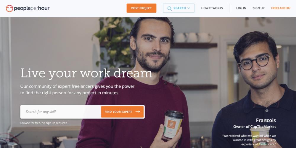 Sites like Upwork - People Per Hour