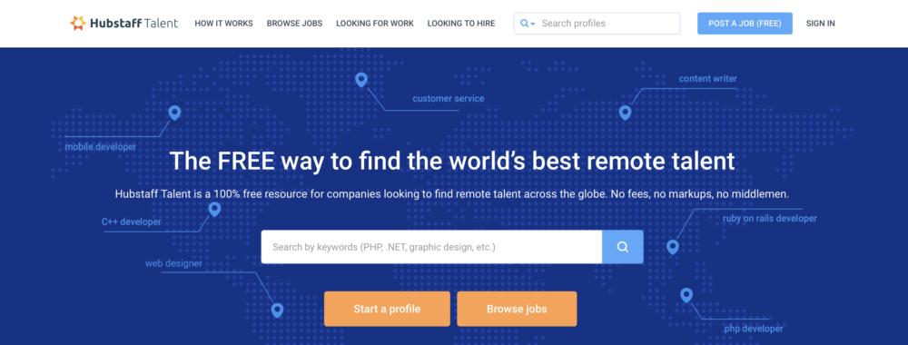 Sites like Upwork - Hubstaff Talent