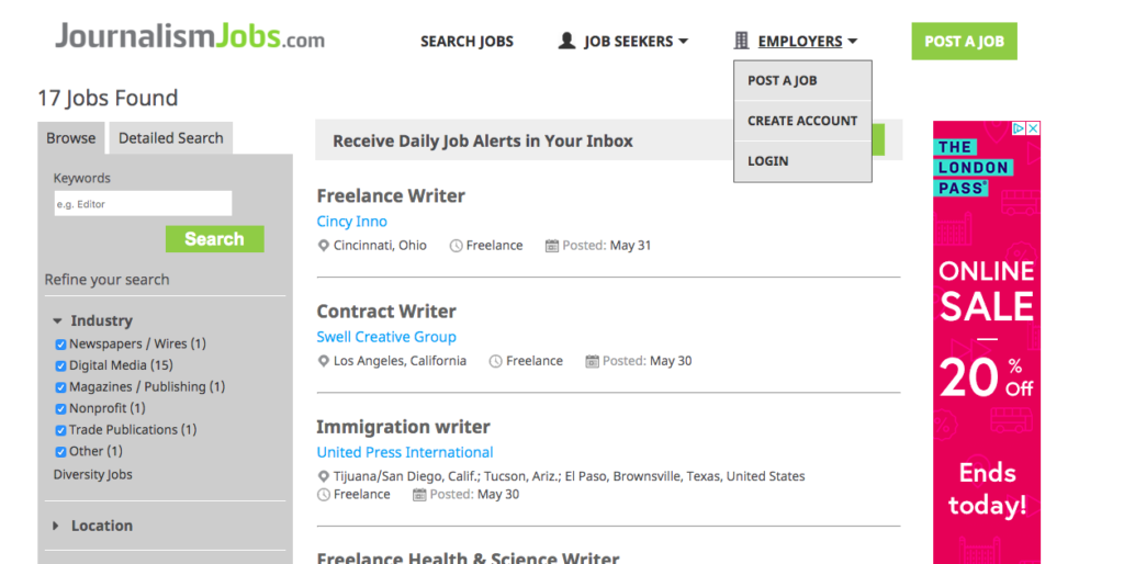 19 Remote Writing Jobs Sites That Post New Jobs Daily For Freelance Writers