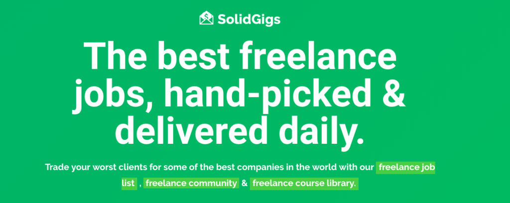 Remote Writing Jobs from SolidGigs