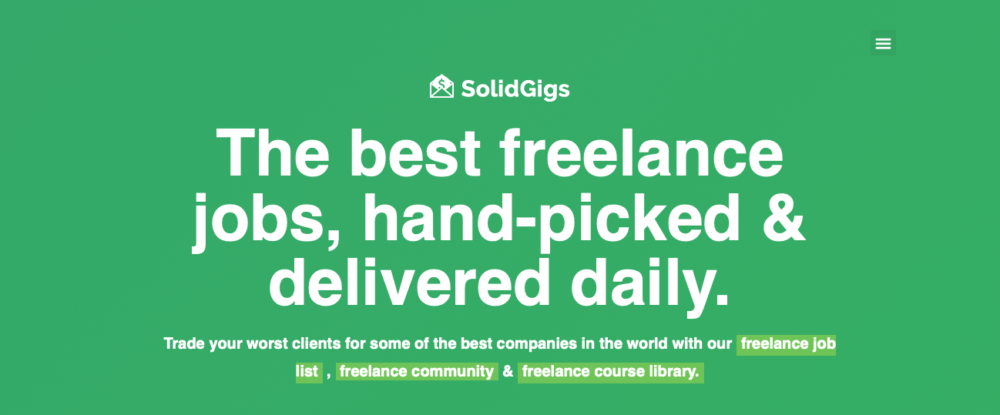sites like fiverr - solidgigs