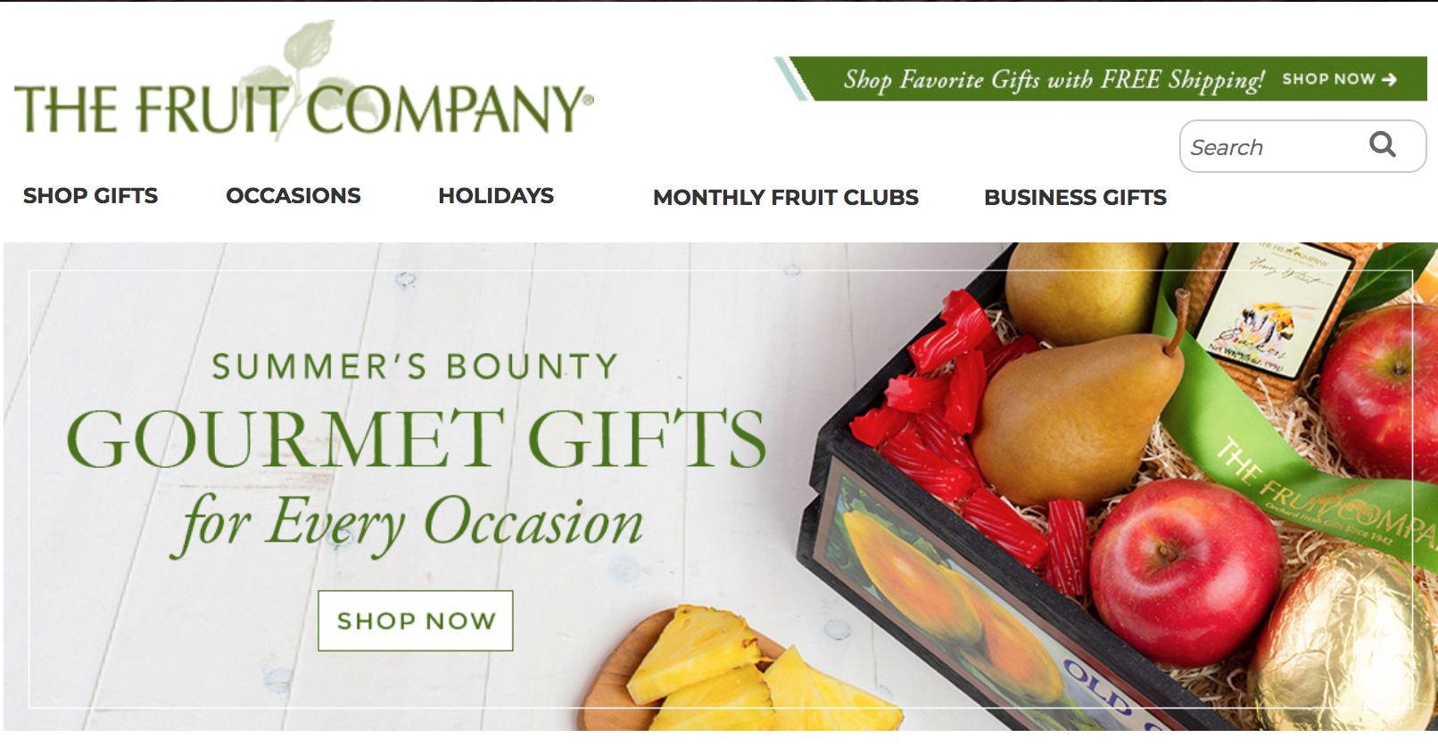 client gifts - the fruit company