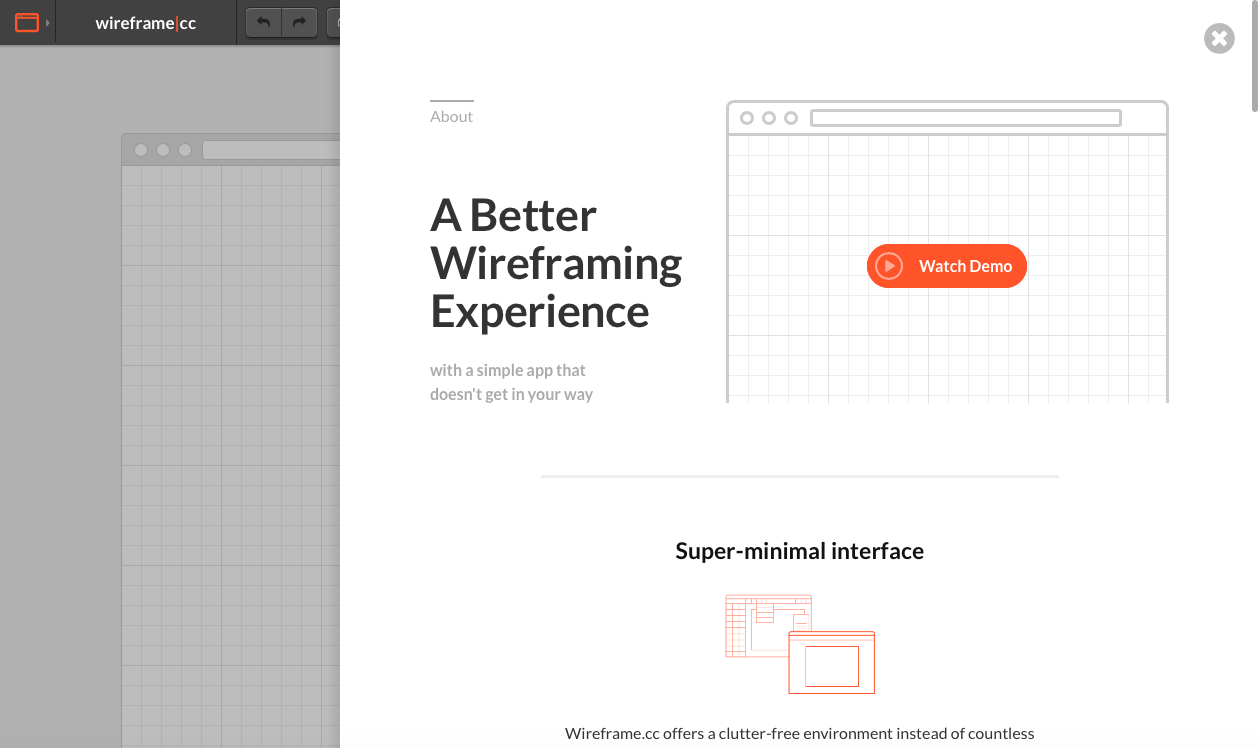 best wireframe tools - wireframe cc