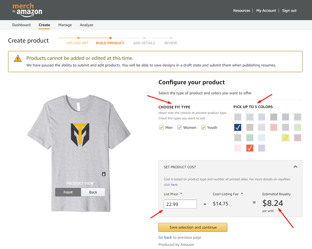 10 Steps To Start A Merch By Amazon Business As A Designer