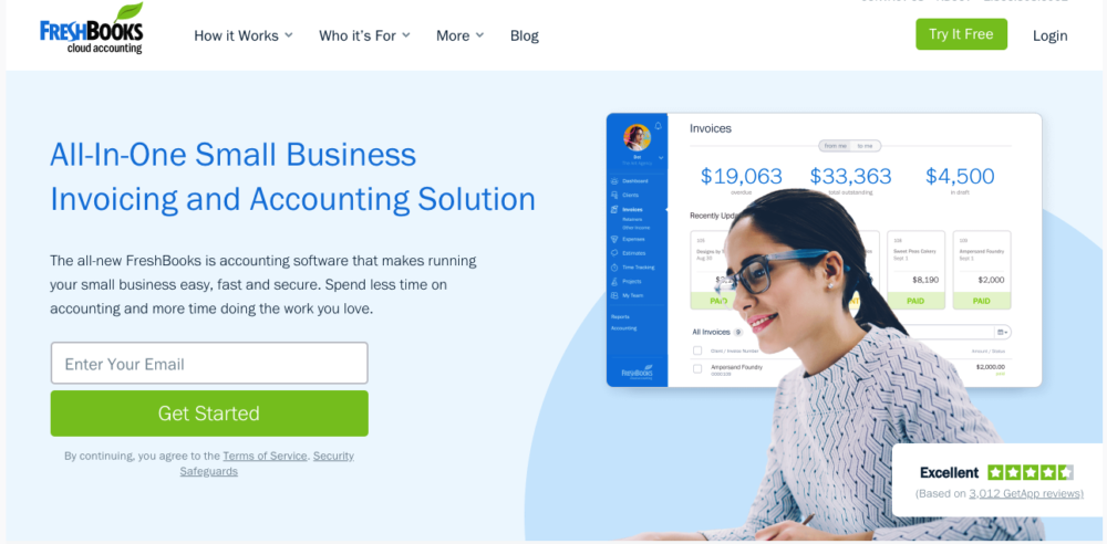Quickbooks alternative - Freshbooks
