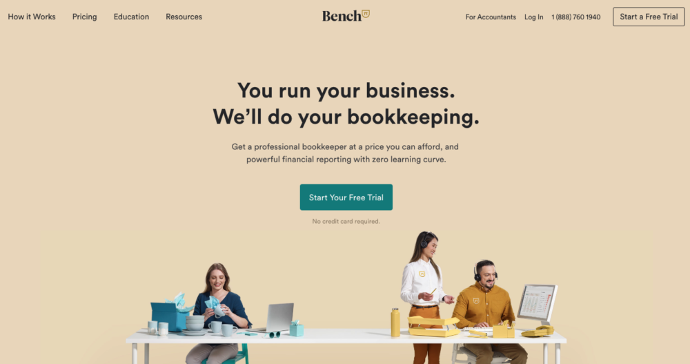 Quickbooks alternative - Bench