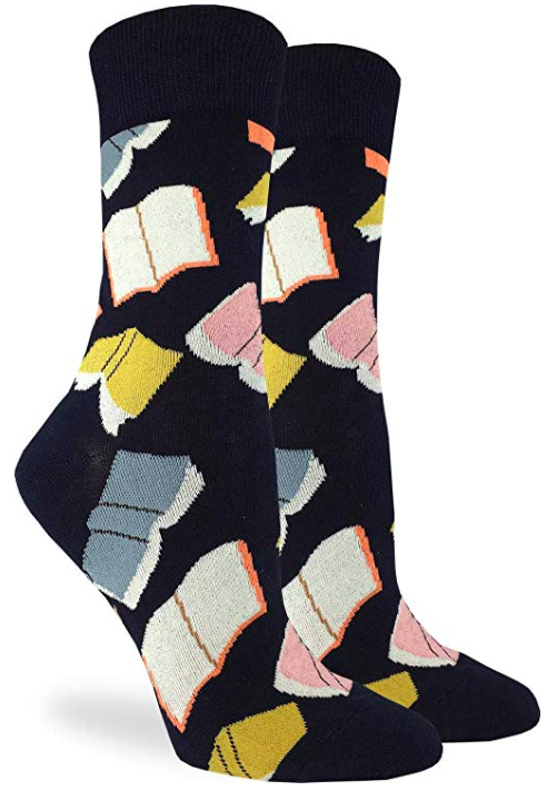 gift ideas for writers book socks