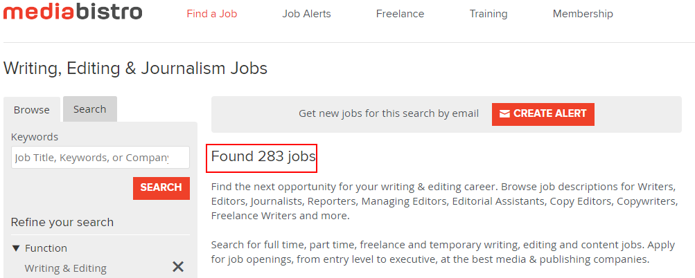 ghostwriting jobs sites - media bistro
