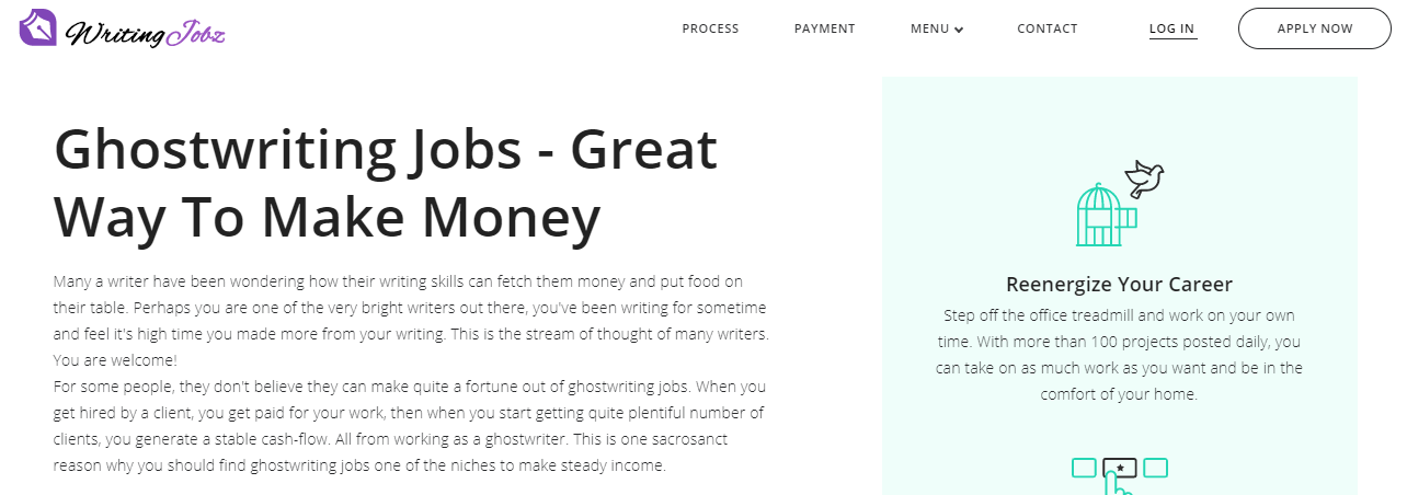 ghostwriting jobs sites - writing jobz