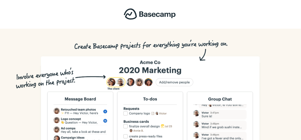 workflow software - basecamp