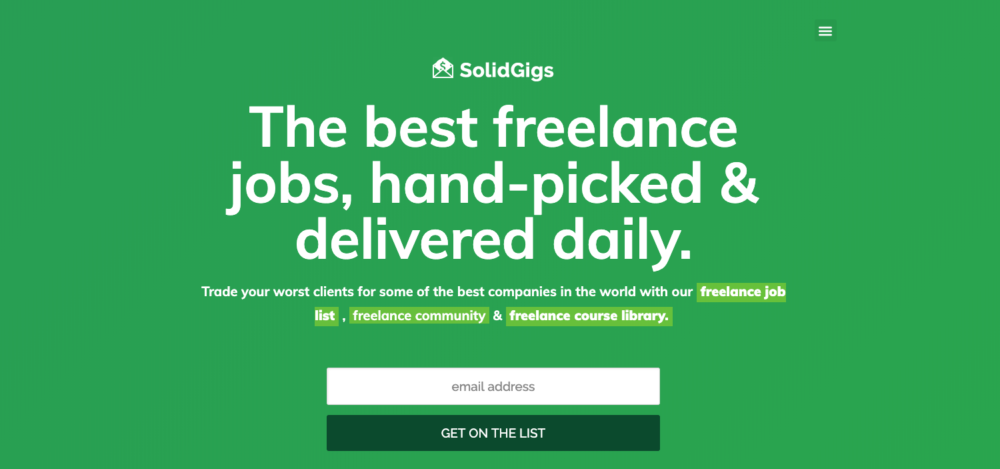 writing jobs sites - solidgigs