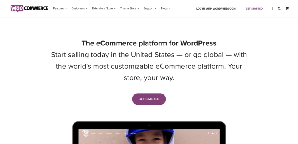 Shopify Competitor: WooCommerce