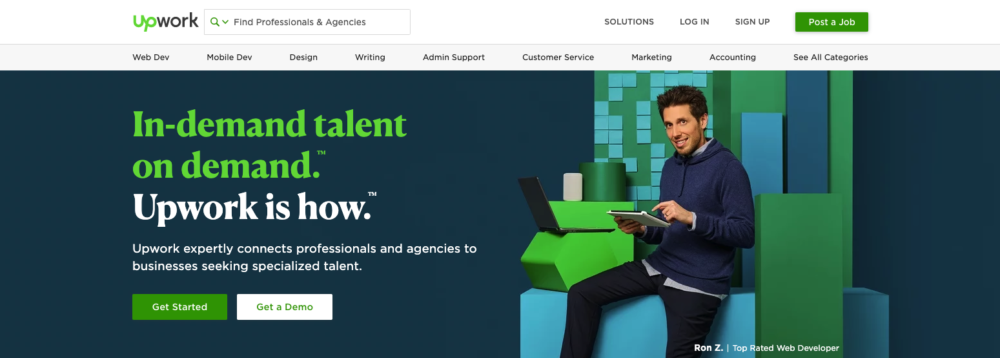 creative writing jobs - upwork