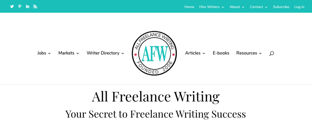 creative writing jobs - all freelance writing