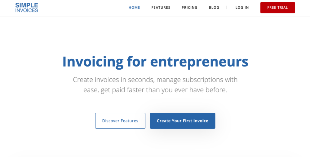simple invoices for the best invoice software