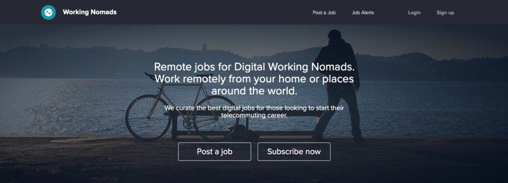 remote editing jobs - working nomads