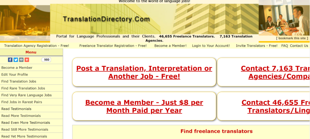 freelance translation jobs - translation directory