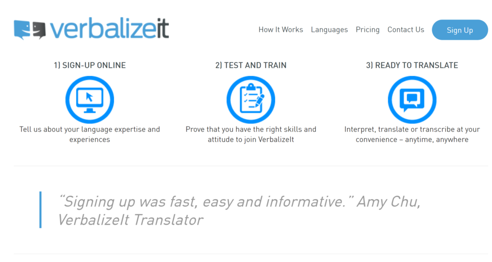 freelance translation jobs - verbalizeit