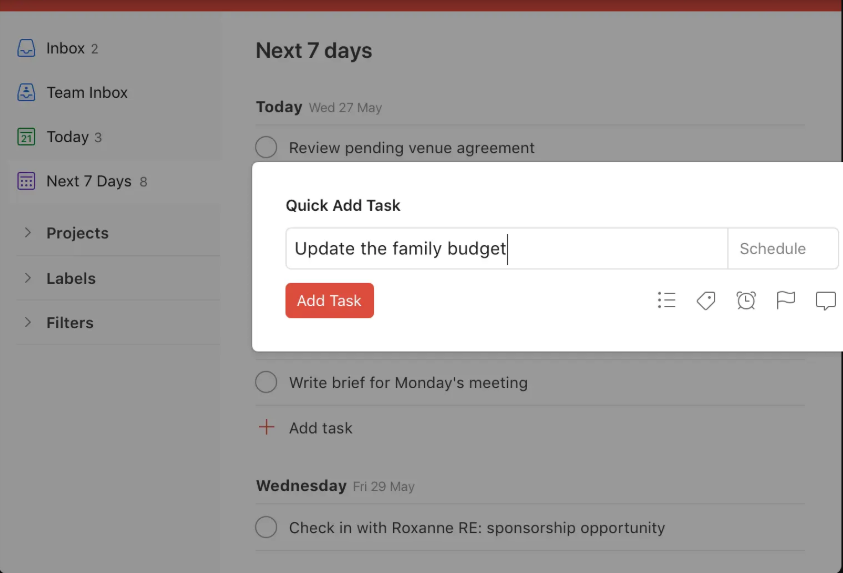 project management software - Todoist